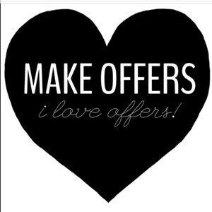 Make me offers! ⭐️❤️